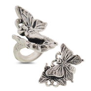 This Large Sterling Silver Butterfly Ring is perfect for spring: 7SS-01160